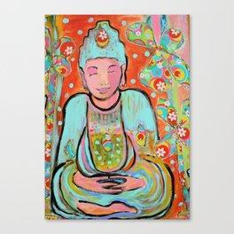 Funky Buddha Canvas Print