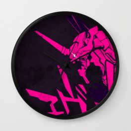 122 Eva Pink Wall Clock