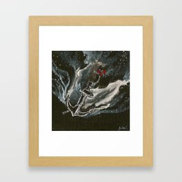 Love is… Drowning Framed Art Print