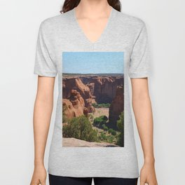The Beauty of Canyon de Chelly Unisex V-Neck