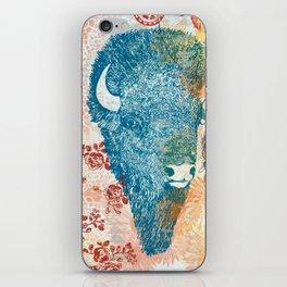 Blue Bison iPhone Skin