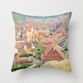 Transylvania I Throw Pillow