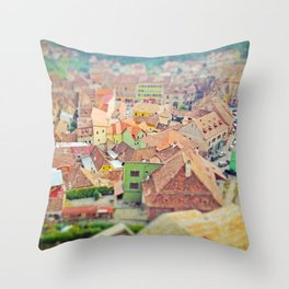 Transylvania I Throw Pillow