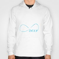 fault in our stars Hoodies featuring Fault In Our Stars - Okay by tangofox