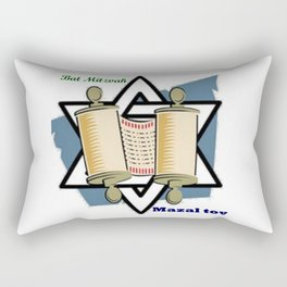Bat Mitzvah Rectangular Pillow