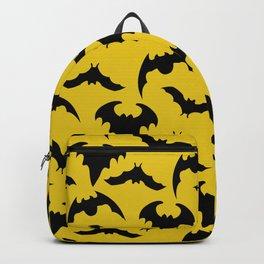 Yellow & Black Bats Backpack