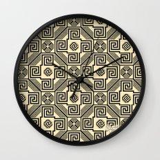 Kagome Fret Lattice. Wall Clock