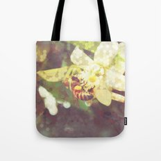 Honey Bee: Pearl Tote Bag