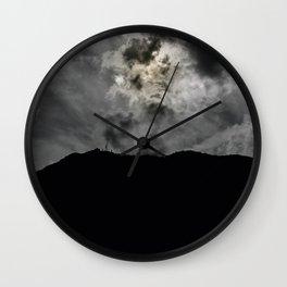 The gray sand Wall Clock