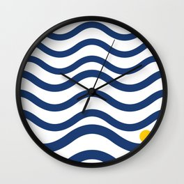 Nice weather Wall Clock