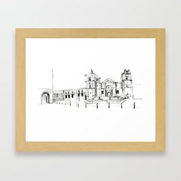 Cathedral, Malta Framed Art Print