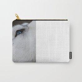 Husky eye Carry-All Pouch