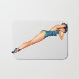 Mary-Jane Bath Mat