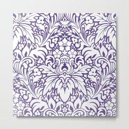 Odyssey Mandala Ultra Violet Metal Print