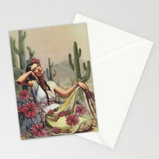 Flowers in the Desert Stationery Cards