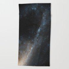 Starbursts in Virgo - The Beautiful Universe Beach Towel