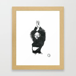 Unwind Framed Art Print