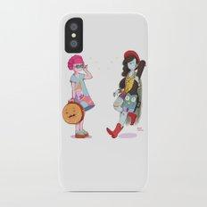 Bubblegum and Marceline iPhone X Slim Case