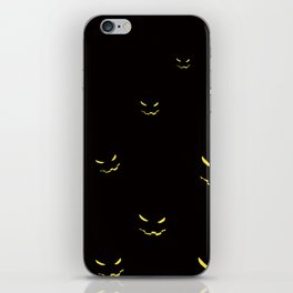 halloween (night) iPhone Skin