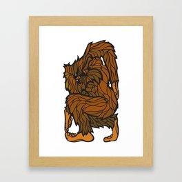 Squatch Framed Art Print