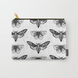Geometric Moths Carry-All Pouch