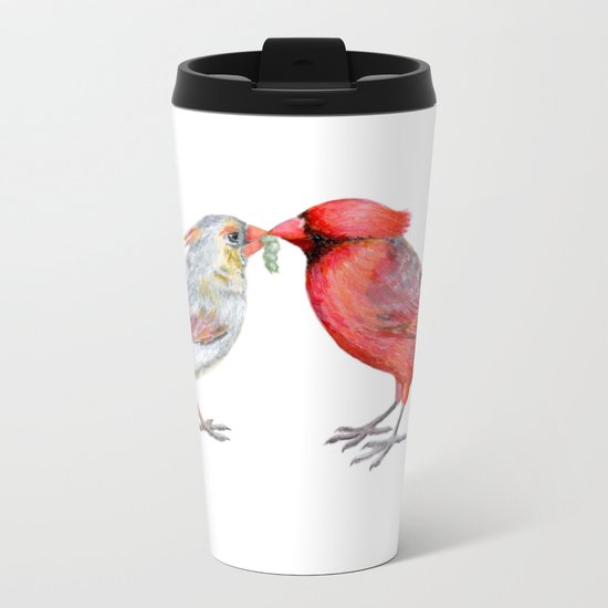 I Grub You by Teresa Thompson Metal Travel Mug