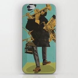 ABSTRACT JAZZ iPhone Skin