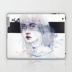 Blindfolded Goddess Laptop & iPad Skin