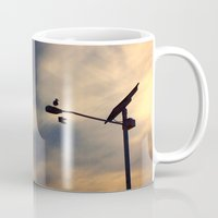 shoe Mugs featuring Shoe Bird by Ken Seligson