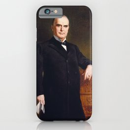 August Benziger - President William McKinley (1897) iPhone Case