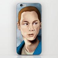 stiles stilinski iPhone & iPod Skins featuring Stiles Stilinski by Terry Blas