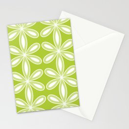 floral pattern green Stationery Cards