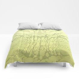 M.A.D. (green) Comforters
