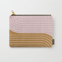 Two Tone Line Curvature XXXXI Carry-All Pouch