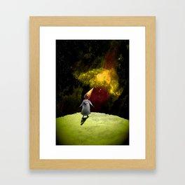 To Seek A Thousand Suns Framed Art Print