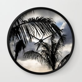 Last Rays of the Day Wall Clock