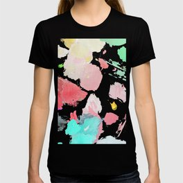 Oil Painting Palette Abstract Pastel Contemporary T-shirt