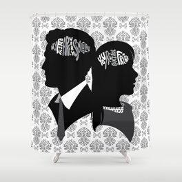 Inside My Brain 3 (50SofG) Shower Curtain