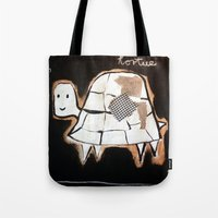 turtle Tote Bags featuring turtle by woman