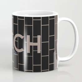 FINCH   Subway Station Coffee Mug