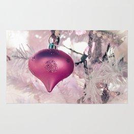Pink Shimmery Christmas 2 Rug