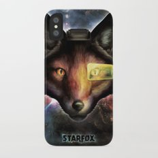 Star Fox McCloud Epic Space Poster Slim Case iPhone X