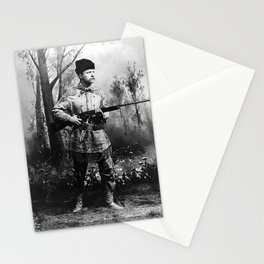 Theodore Roosevelt - Hunting Portrait Stationery Cards