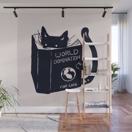 World Domination For Cats Wall Mural