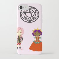 utena iPhone & iPod Cases featuring Be my rose bride by Missaurelie
