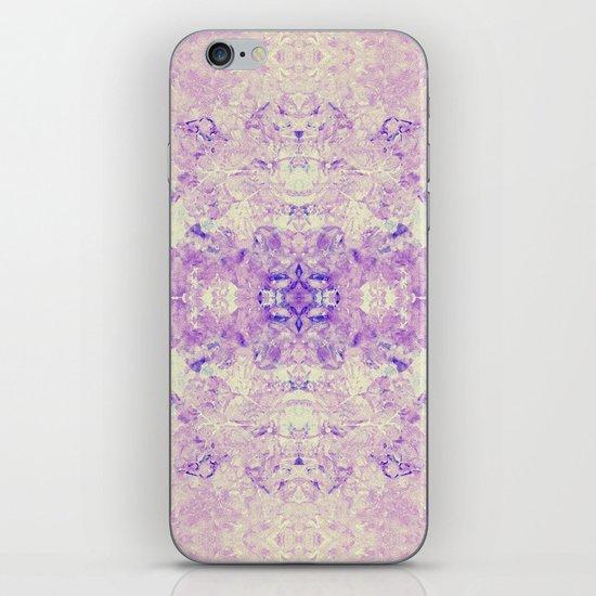 Fuzzy kaleidoscope iPhone & iPod Skin