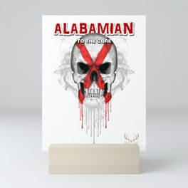 To The Core Collection: Alabama Mini Art Print