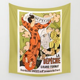La Depeche Wall Tapestry