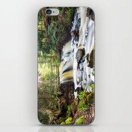 Upper Chapel Falls at Pictured Rocks National Lakeshore - Michigan iPhone Skin