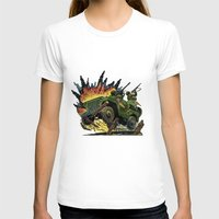 jeep T-shirts featuring Battle Squadron Jeep by Copyright free comic fans
